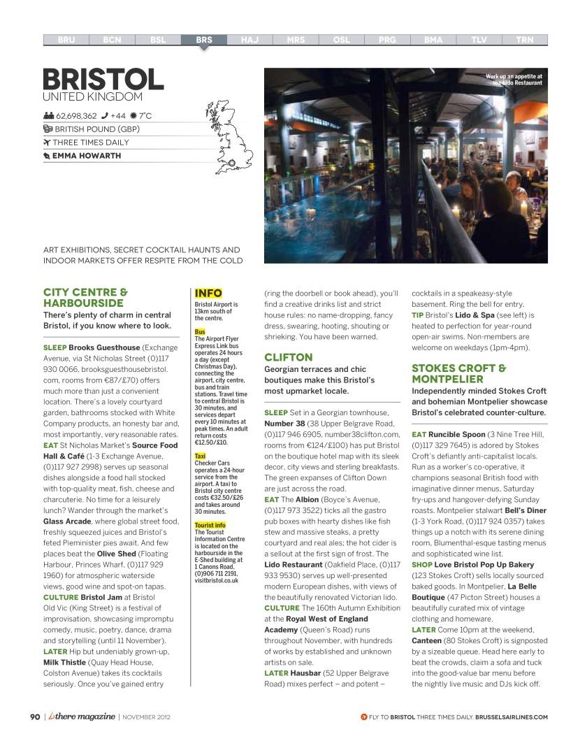 Bthere Bristol Guide