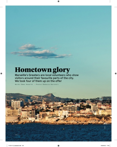 Hometown Glory: The Marseille Greeters N Magazine March 2013